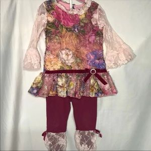 Other - Toddler Girl Boutique Outfit